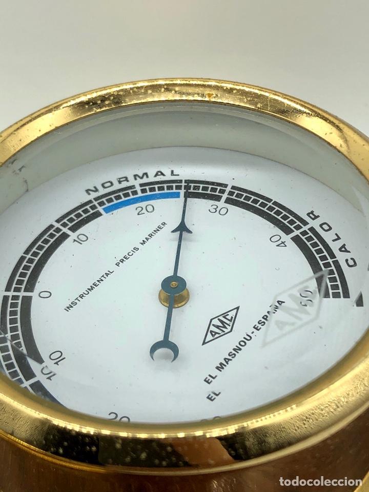Antigüedades: Auténtica estación meteorológica barco náutica INSTRUMENTAL PRECIS MARINER - Foto 9 - 219446213