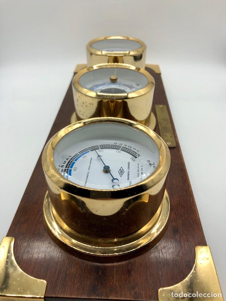 Antigüedades: Auténtica estación meteorológica barco náutica INSTRUMENTAL PRECIS MARINER - Foto 20 - 219446213