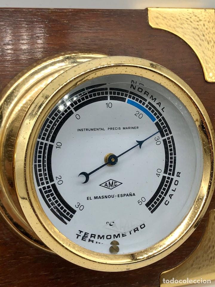 Antigüedades: Auténtica estación meteorológica barco náutica INSTRUMENTAL PRECIS MARINER - Foto 23 - 219446213