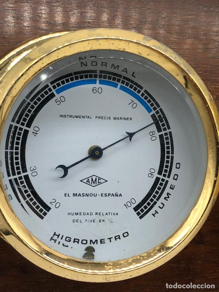 Antigüedades: Auténtica estación meteorológica barco náutica INSTRUMENTAL PRECIS MARINER - Foto 24 - 219446213