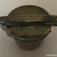 Antigüedades: PONDERAL DE VASOS ANIDADOS. INCOMPLETO. FINALES DEL SIGLO XVIII. Lote 219487962