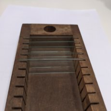 Antigüedades: ANTIGUO PORTA PORTAS MICROSCOPIO. Lote 219493096