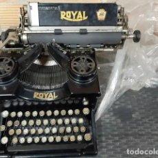 Antigüedades: MÁQUINA DE ESCRIBIR ROYAL TRUST MECANOGRÁFICO MADRID. Lote 219548208