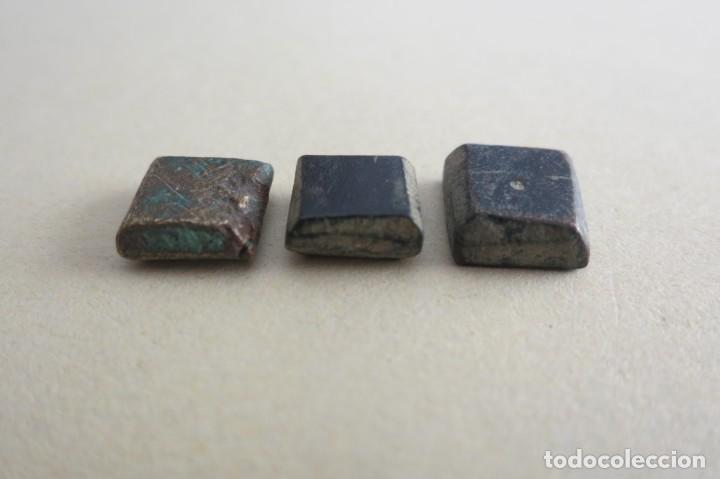 PONDERALES HISPANO ARABES DE BRONCE (Antigüedades - Técnicas - Medidas de Peso - Ponderales Antiguos)