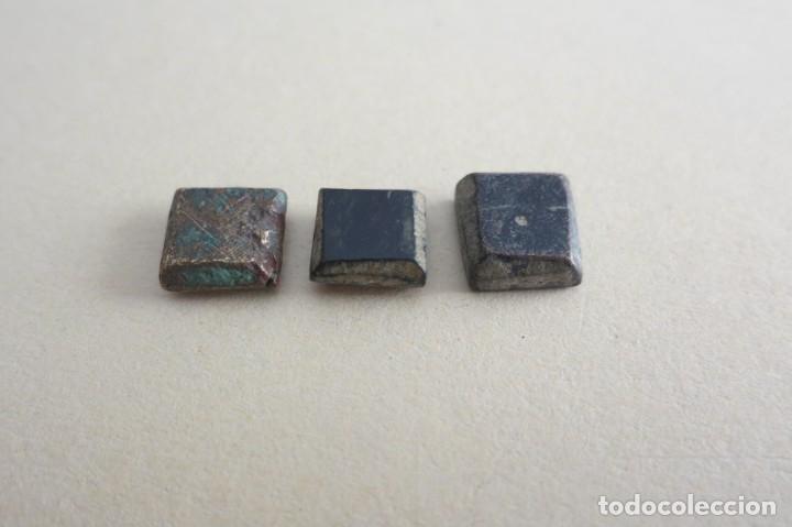 Antigüedades: ponderales hispano arabes de bronce - Foto 2 - 219587881