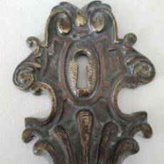 Antigüedades: BOCALLAVES ANTIGUO ART DECÓ. Lote 219608358