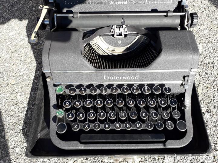 ANTIGUA MAQUINA DE ESCRIBIR UNDERWOOD EN PERFECTO ESTADO DE FUNCIONAMIENTO (Antigüedades - Técnicas - Máquinas de Escribir Antiguas - Underwood)