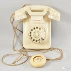 Teléfonos: ANTIGUO Y MAGNIFICO TELÉFONO DE PARED AURICULAR FUNCIONANDO AÑOS 50 CLASICO MEDIDAS 11X23X22 CM 170,. Lote 219866842