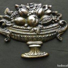 Antigüedades: ANTIGUO ADORNO DE BRONCE PARA MUEBLE. Lote 219898443