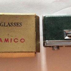 Antigüedades: PRISMATICOS OPERA GLASSES CRYSTAR CON CAJA ORIGINAL BINOCULARES TAMAÑO PRISMÁTICOS: 11 CM. Lote 220064350
