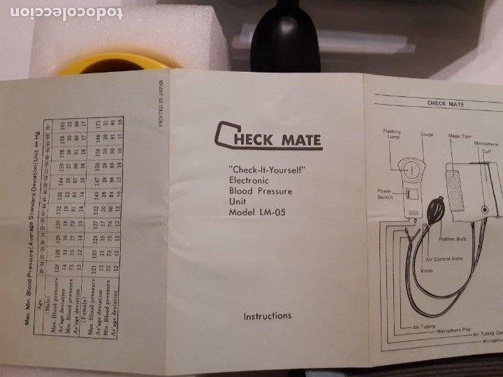 Antigüedades: Tensiómetro manual en perfecto funcionamiento. Fabricado en Japón. Logos Medical. Anterior a 1980. - Foto 6 - 220068746