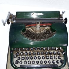 Antigüedades: MAQUINA DE ESCRIBIR, TYPEWRITER, SCHREIBMASCHINEN, MACHINE Á ÉCRIRE PATRIA. Lote 220238160