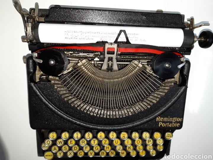 Antigüedades: Maquina de escribir, Typewriter, Schreibmaschinen, machine á écrire REMINGTON - Foto 3 - 220278510