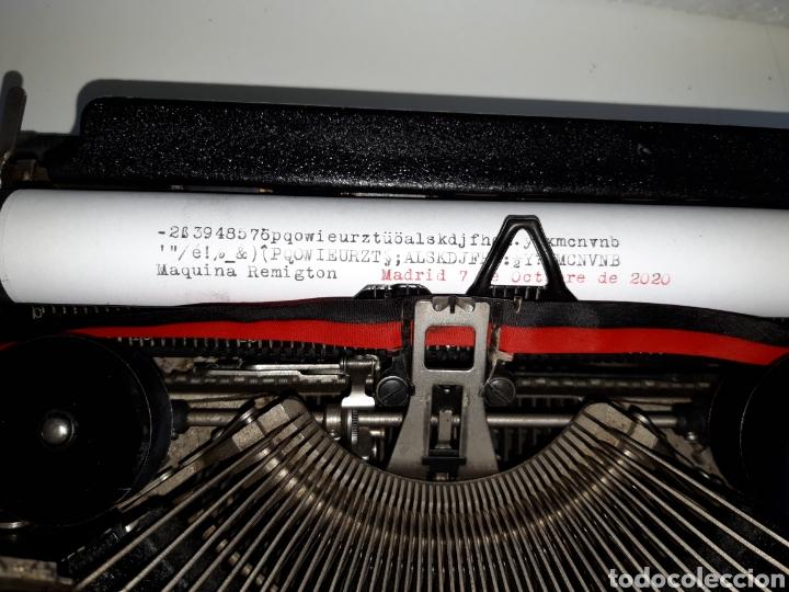 Antigüedades: Maquina de escribir, Typewriter, Schreibmaschinen, machine á écrire REMINGTON - Foto 4 - 220278510
