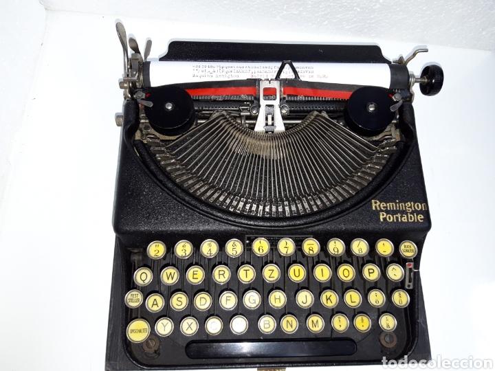 Antigüedades: Maquina de escribir, Typewriter, Schreibmaschinen, machine á écrire REMINGTON - Foto 5 - 220278510