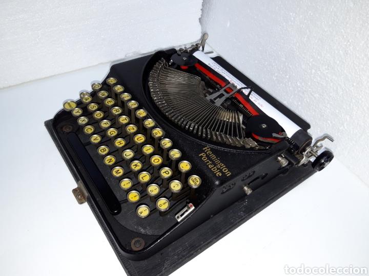 Antigüedades: Maquina de escribir, Typewriter, Schreibmaschinen, machine á écrire REMINGTON - Foto 6 - 220278510