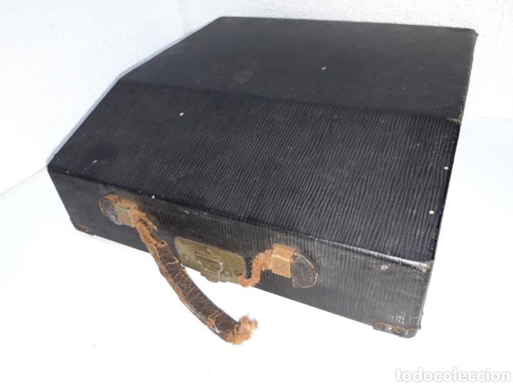 Antigüedades: Maquina de escribir, Typewriter, Schreibmaschinen, machine á écrire REMINGTON - Foto 7 - 220278510