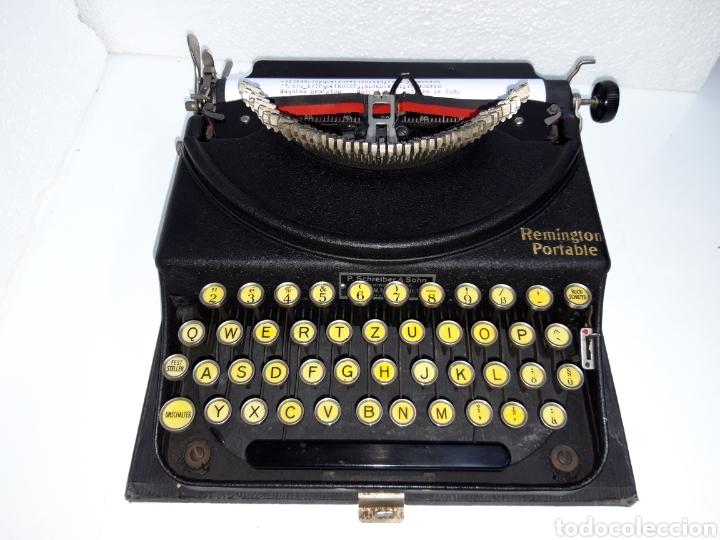 MAQUINA DE ESCRIBIR, TYPEWRITER, SCHREIBMASCHINEN, MACHINE Á ÉCRIRE REMINGTON (Antigüedades - Técnicas - Máquinas de Escribir Antiguas - Remington)