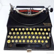 Antigüedades: MAQUINA DE ESCRIBIR, TYPEWRITER, SCHREIBMASCHINEN, MACHINE Á ÉCRIRE REMINGTON. Lote 220278510