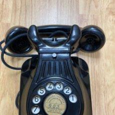 Teléfonos: ANTIGUO TELÉFONO BAQUELITA DE PARED DE LA COMPAÑÍA TELEFÓNICA NACIONAL DE ESPAÑA. Lote 220284081