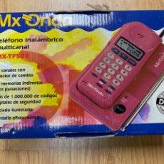 Telefones: TELEFONO MX-ONDA INALÁMBRICO EN SU CAJA. Lote 220287965