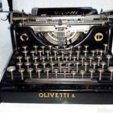 Antigüedades: MAQUINA DE ESCRIBIR, TYPEWRITER, SCHREIBMASCHINEN, MACHINE Á ÉCRIRE OLIVETTI M-20. Lote 220374185
