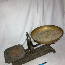 Antiquités: ANTIGUA BASCULA DE 5 KG!. Lote 220391297