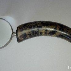 Antigüedades: LUPA CUERNO. Lote 220393275