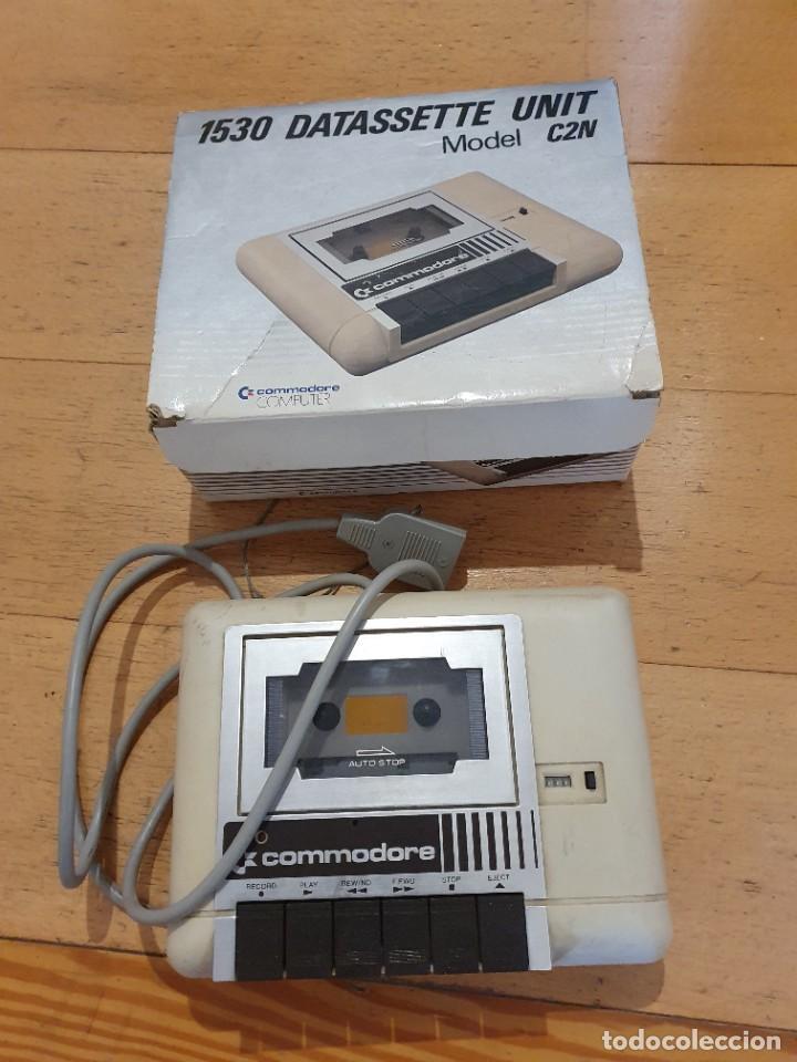 DATASSETTE COMMODORE PARA VIC 20 O COMMODORE 64 (Antigüedades - Técnicas - Ordenadores hasta 16 bits (anteriores a 1982))