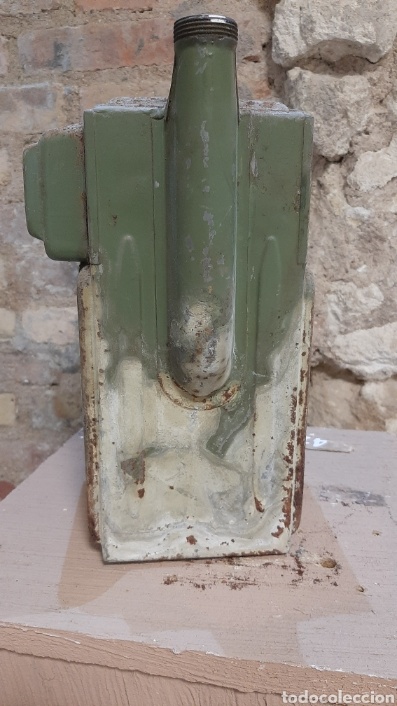 Antigüedades: ANTIGUO CONTADOR DE GAS - Foto 4 - 220405506
