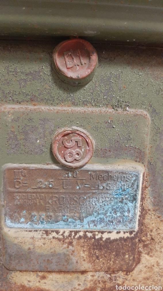 Antigüedades: ANTIGUO CONTADOR DE GAS - Foto 5 - 220405506