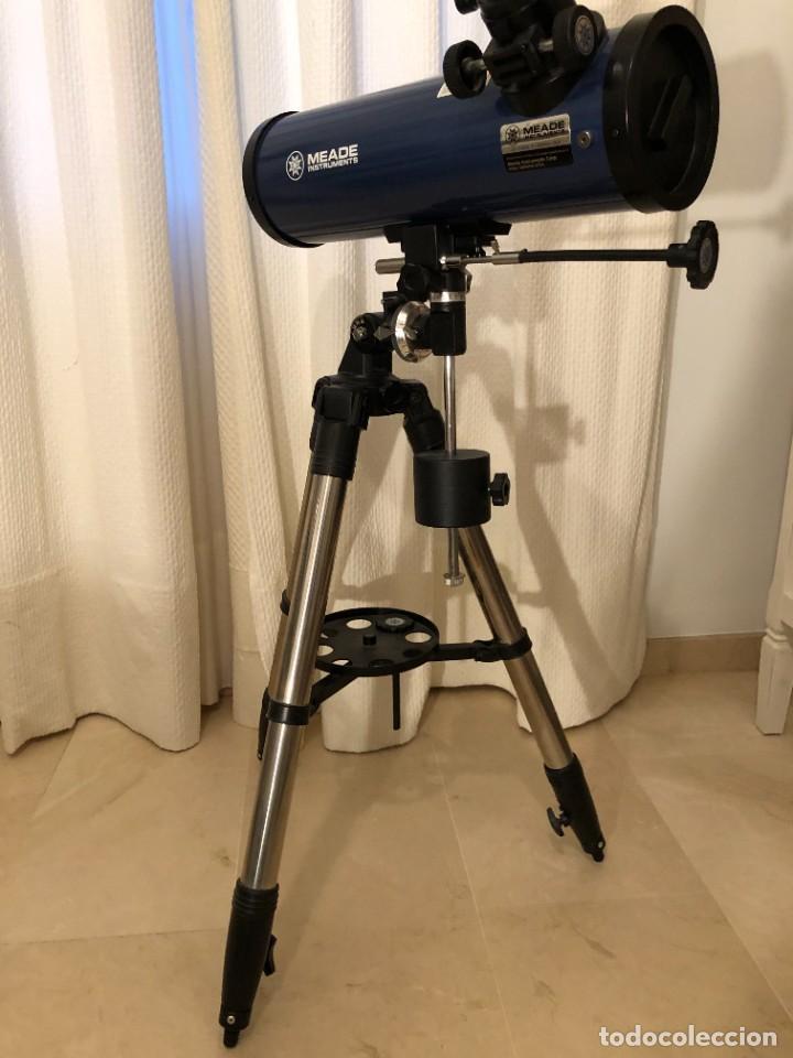 TELESCOPIO MEADE 114 REFLECTOR ECUATORIAL (Antigüedades - Técnicas - Otros Instrumentos Ópticos Antiguos)