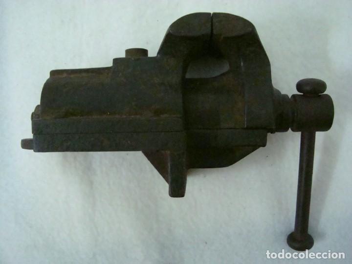 TORNILLO 16 X 10 X 6 CM (Antigüedades - Técnicas - Herramientas Antiguas - Otras profesiones)