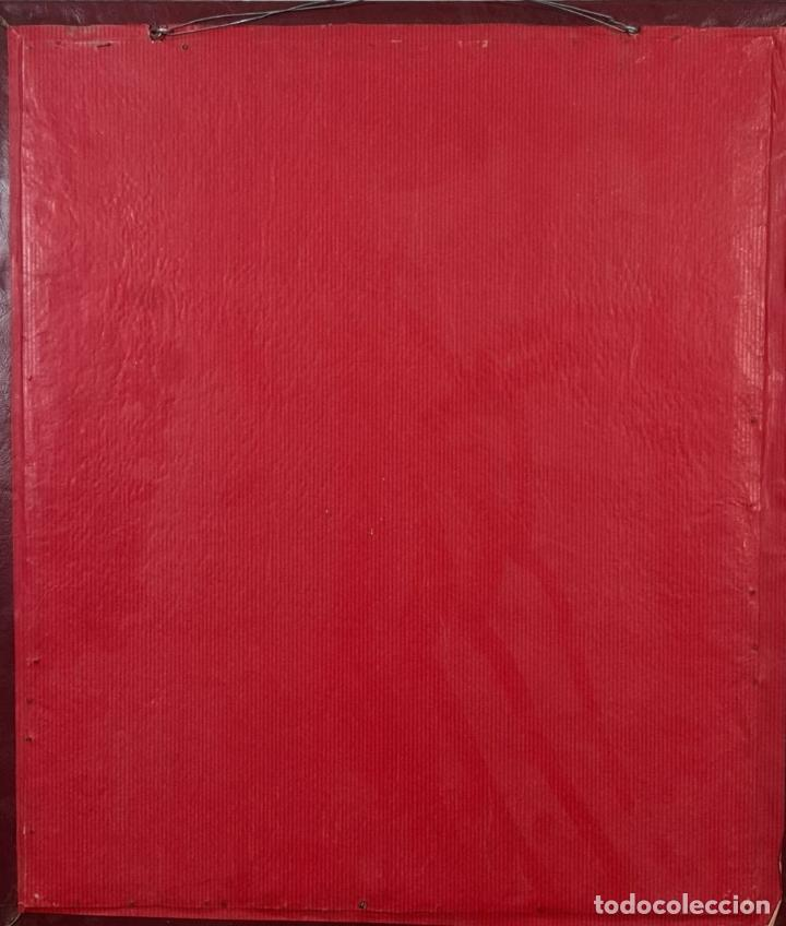 Antigüedades: MATRIZ DE METAL. NAIPES FINOS LA HISPANO AMERICANA. JOAN ROURA. CIRCA 1920. - Foto 2 - 220446523