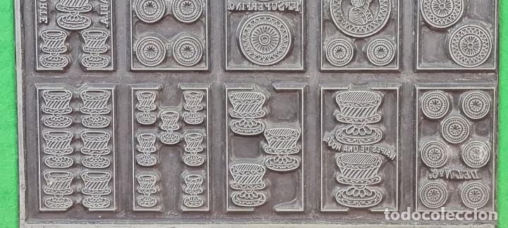 Antigüedades: MATRIZ DE METAL. NAIPES FINOS LA HISPANO AMERICANA. JOAN ROURA. CIRCA 1920. - Foto 6 - 220446523