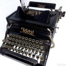Antigüedades: MAQUINA DE ESCRIBIR, TYPEWRITER, IDEAL A2. Lote 220497226