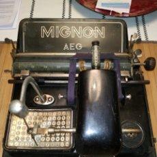 Antigüedades: MIGNON AEG. Lote 220510971