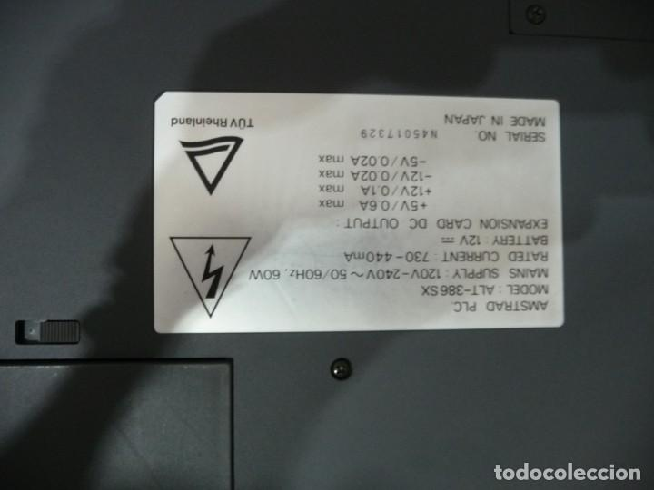 Antigüedades: PORTATIL AMSTRAD LAPTOR COMPUTER ALT-386SX,FUNDA ORIGINAL E IMPRESORA PORTATIL - Foto 5 - 220541856