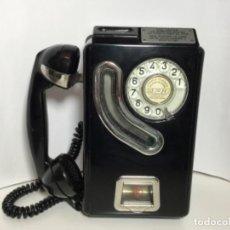 Téléphones: CABINA DE TELÉFONO ANTIGUA DE FICHAS TELEFÓNICA ESPAÑA ( ÚNICA EN TC ). Lote 220578505