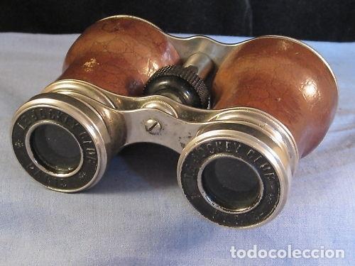 Antigüedades: Binoculares franceses de los años 1920/30. Le Jockey Club, Paris - Foto 5 - 220599478