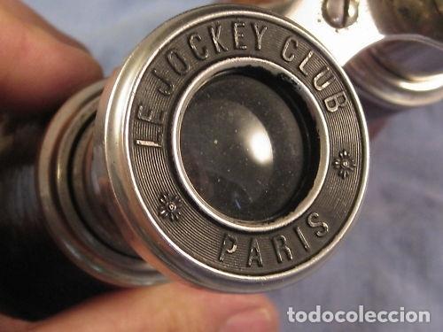 Antigüedades: Binoculares franceses de los años 1920/30. Le Jockey Club, Paris - Foto 10 - 220599478