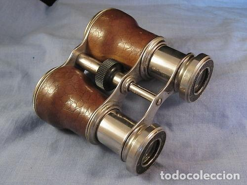 BINOCULARES FRANCESES DE LOS AÑOS 1920/30. LE JOCKEY CLUB, PARIS (Antigüedades - Técnicas - Instrumentos Ópticos - Binoculares Antiguos)