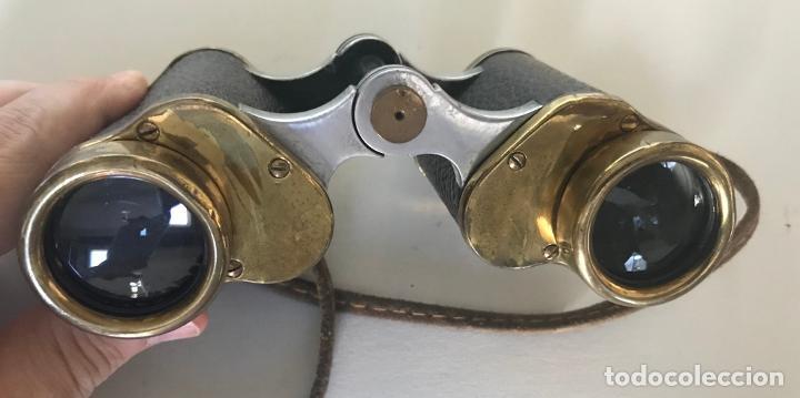 Antigüedades: Binoculares alemanes de los años 1920-30. Nedinco, Zeiss - Foto 4 - 220601055