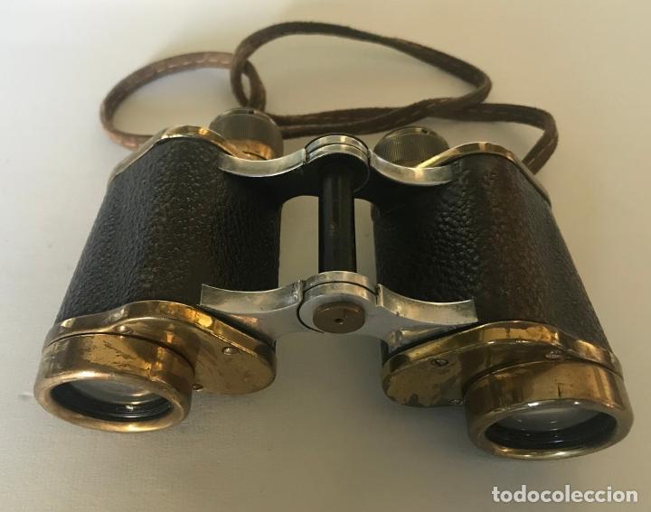 BINOCULARES ALEMANES DE LOS AÑOS 1920-30. NEDINCO, ZEISS (Antigüedades - Técnicas - Instrumentos Ópticos - Binoculares Antiguos)