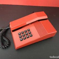 Téléphones: TELEFONO ANTIGUO TEIDE ROJO. FUNCIONANDO. VINTAGE AÑOS 80. Lote 220605771