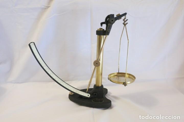 BALANZA GRIFFIN & TATLOCK PATENTADA 250 GRAMOS (Antigüedades - Técnicas - Medidas de Peso - Balanzas Antiguas)