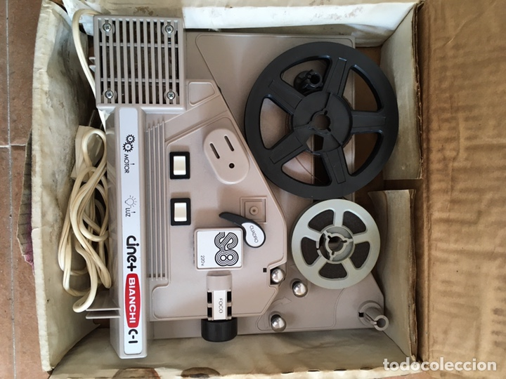 Antigüedades: Máquina de cine Bianchi - Foto 2 - 220699488