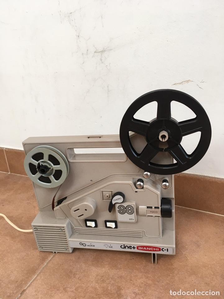 Antigüedades: Máquina de cine Bianchi - Foto 3 - 220699488