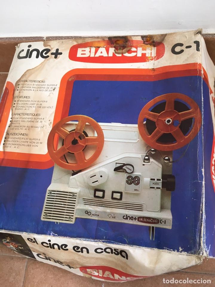 Antigüedades: Máquina de cine Bianchi - Foto 4 - 220699488