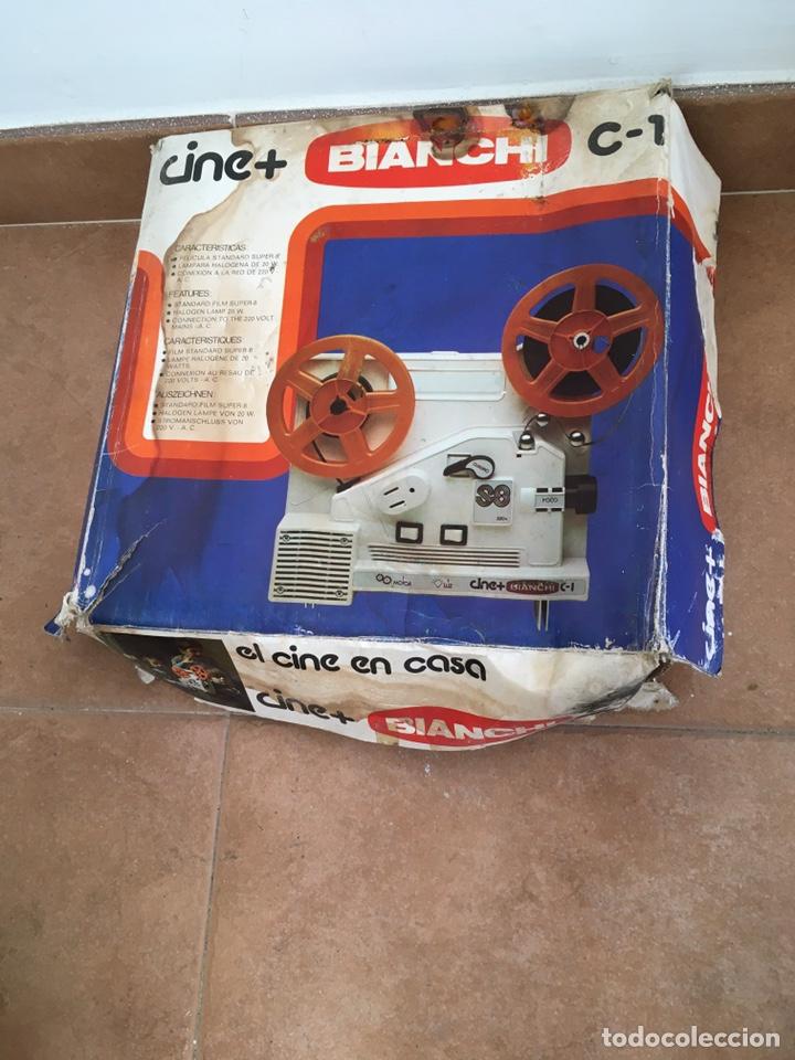 Antigüedades: Máquina de cine Bianchi - Foto 5 - 220699488